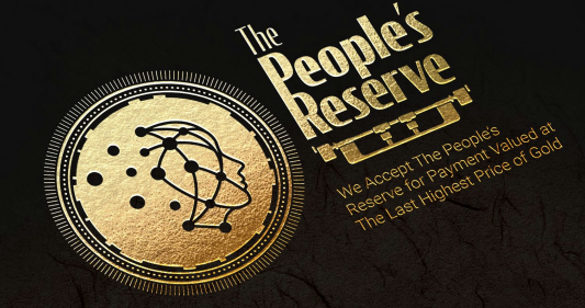 The Peoples Reserve Coin Logo